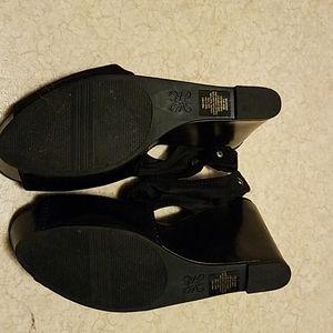 Vera Wang Shoes - Vera Wang wedge sandals